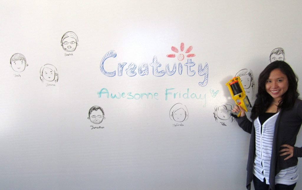 Working at Creatuity 22