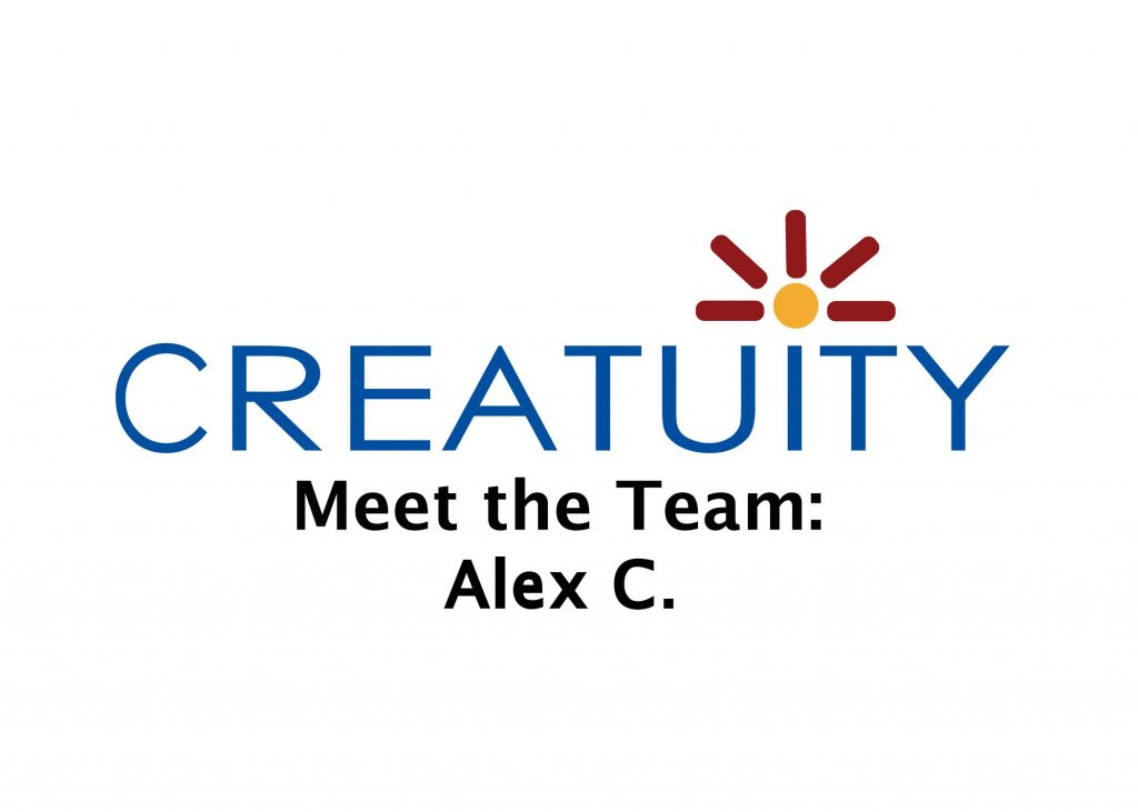 Meet the Team: Alex C. 1