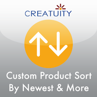 Creatuity Launches Custom Product Sort Magento Extension 7