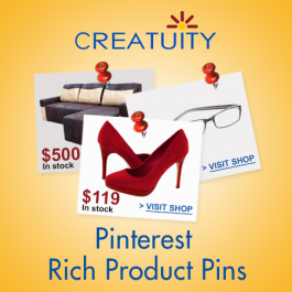 Creatuity First To Release Magento Pinterest Rich Product Pins Extension