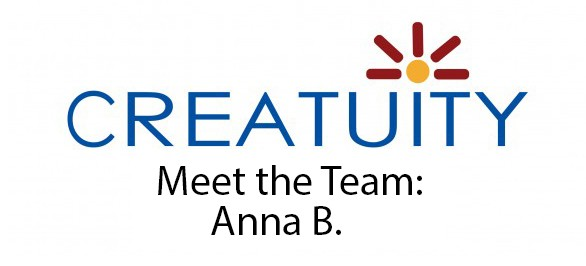 Meet The Team: Anna B. 1