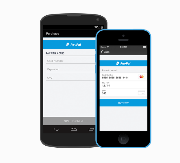 Braintree checkout experience on a mobile scale
