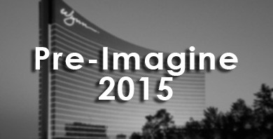 Proud Sponsors of Pre-Imagine 2015