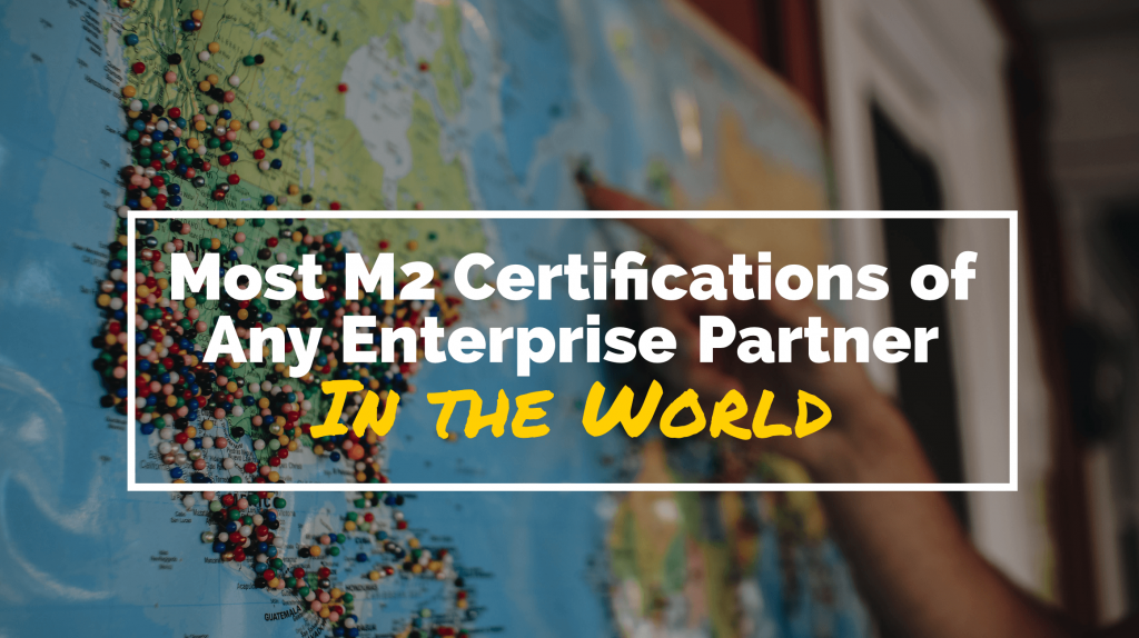 Creatuity Earns Most M2 Certifications of Any Magento Enterprise Partner