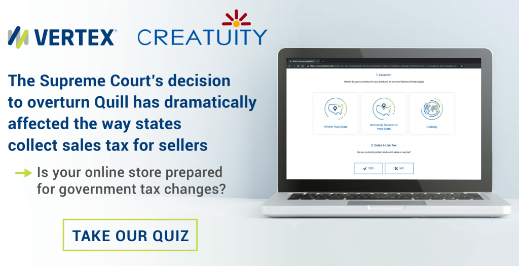 Navigating Sales Tax Changes with Vertex and Creatuity 8