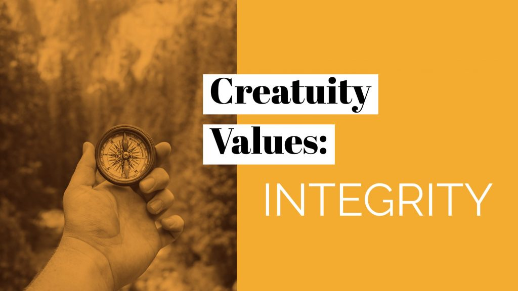 Our Company Values: Integrity 29