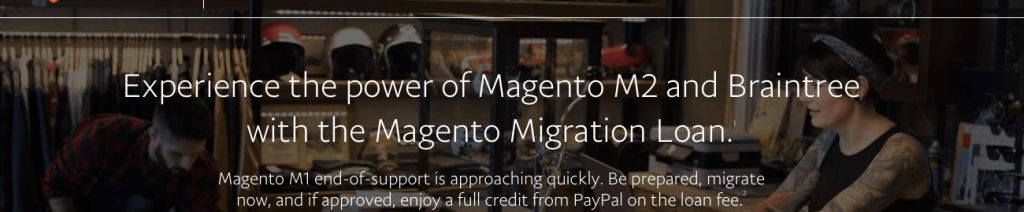 Using Loanbuilder to Finance Your Magento Migration