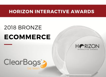 Ecommerce - 2018 Bronze - ClearBags